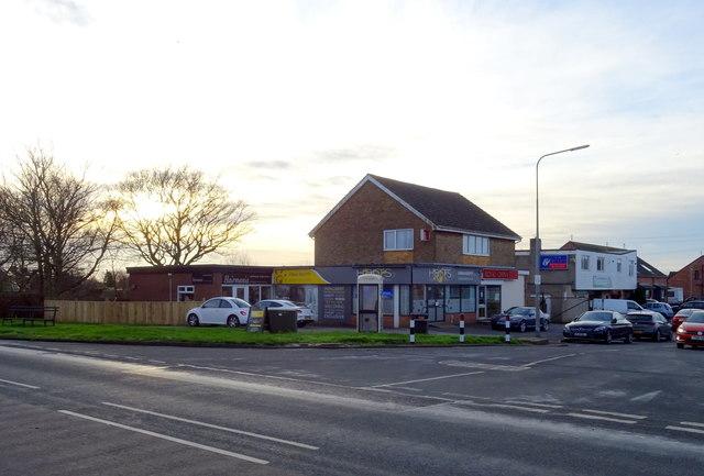 Shops on Grange Road, Thorngumbald