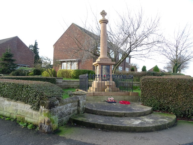 War Memorial, Burstwick