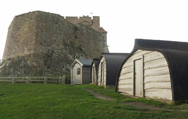 Boat sheds, Lindisfarne