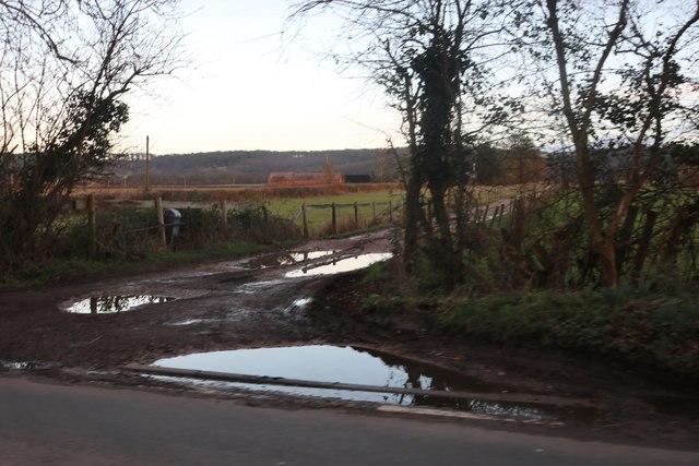 Track to Eastfield Farm, Watlington