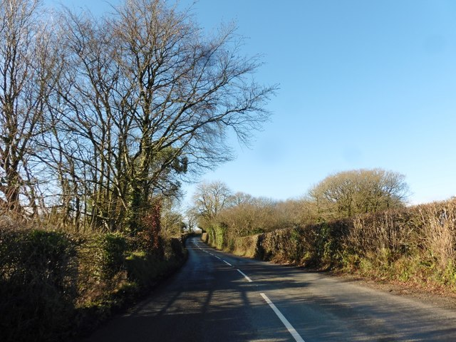 The B3137, near Blagrove