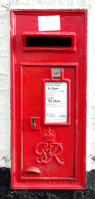George VI postbox, Preston Post Office