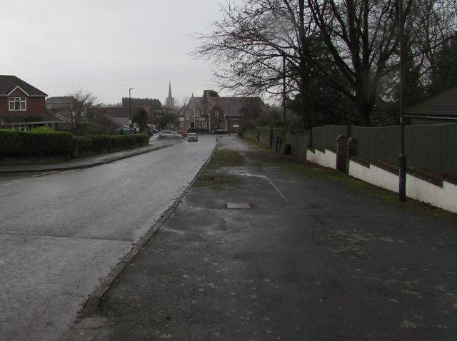 Wide pavement, Lydney