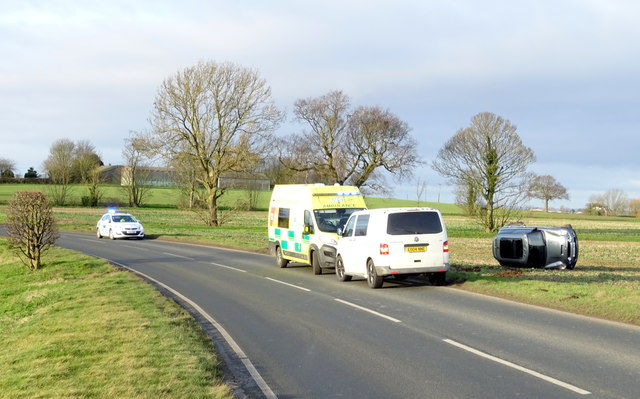 RTA on the B1362 east of Hedon