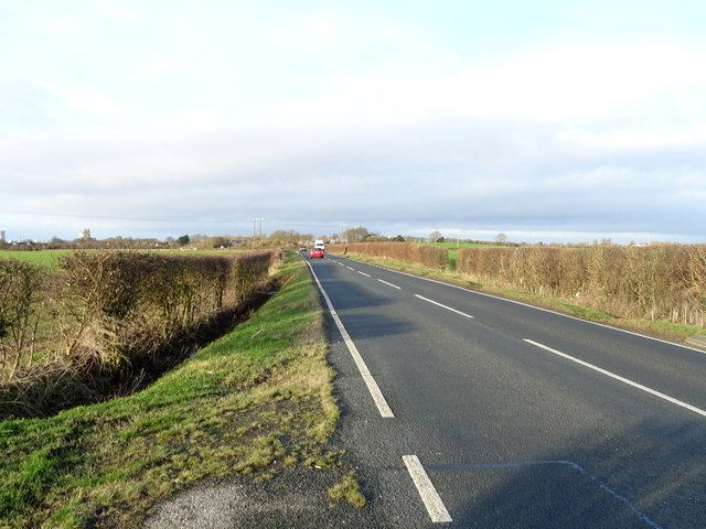 B1362 towards Hedon