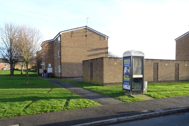 Flats off Inmans Road, Hedon