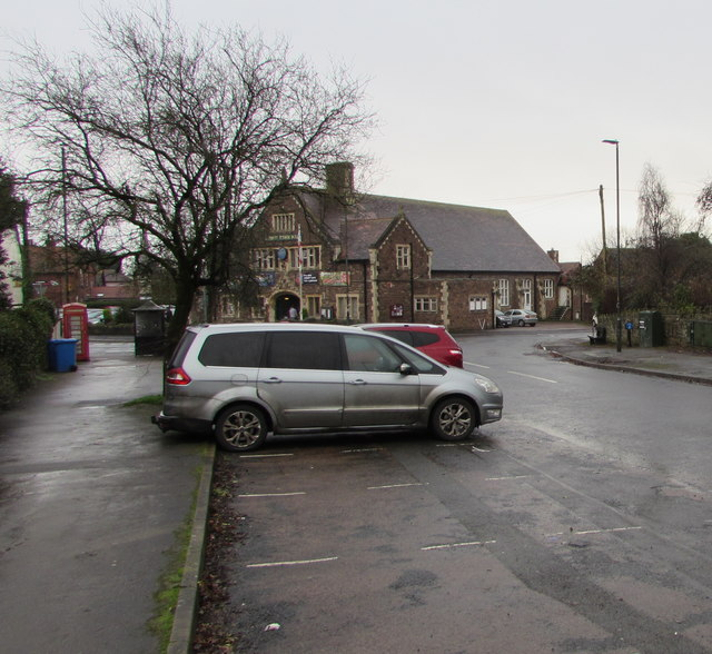 Parking area, Templeway West, Lydney