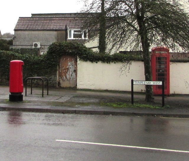 Red part of Templeway West, Lydney