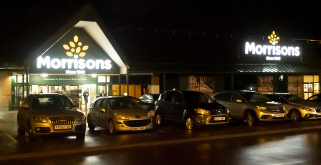 The lights of Morrison's