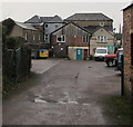 SO6202 : Rear entrance to Sundean Vets, High Street, Lydney by Jaggery