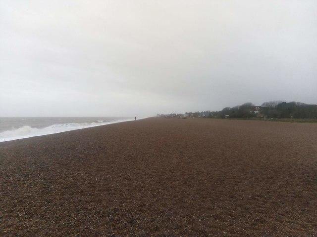 Aldeburgh beach, January