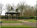 SE2527 : Dartmouth Park. Morley - bandstand by Stephen Craven