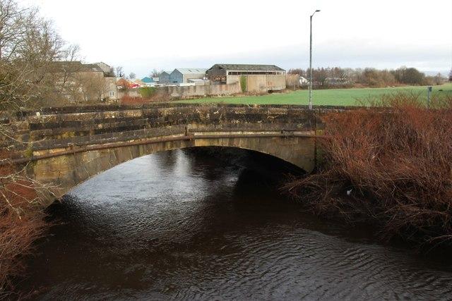 Old bridge over Black Cart Water