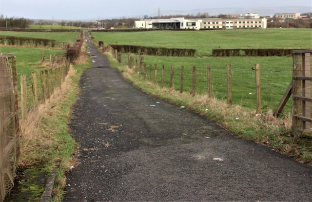 Footpath towards St Benedicts High School