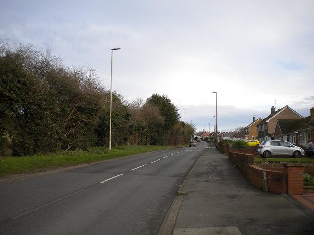Bottom of Sandyfields Road, the Straits