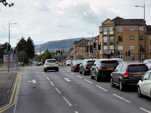 Traffic Lights on Glasgow Road