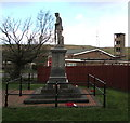 SN8109 : Side view of Seven Sisters War Memorial by Jaggery