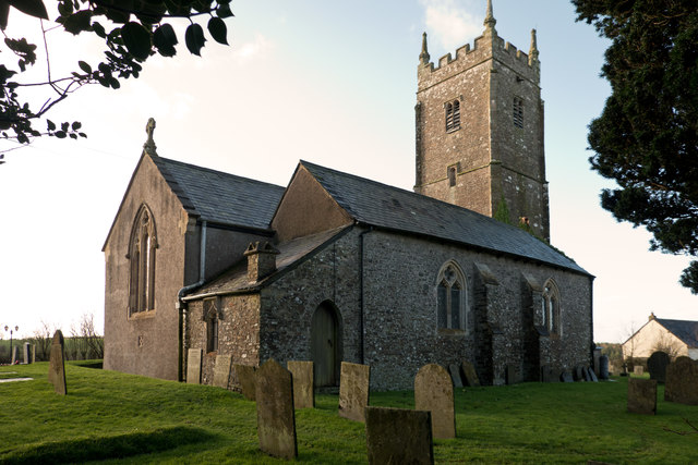 The church of St. Mary Magdalene, Huntshaw