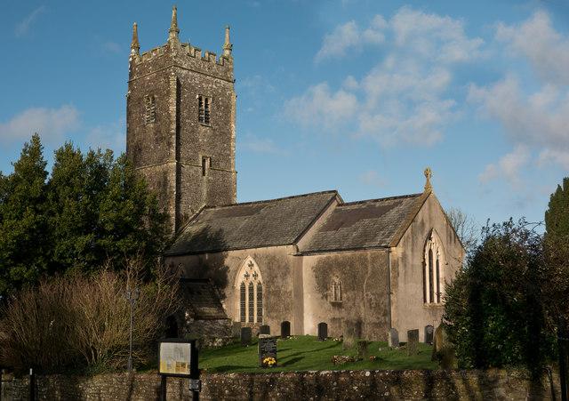 The church of St. Mary Magdalene, Huntshaw
