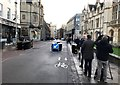 TL4458 : Anti-terror barrier across King's Parade in Cambridge - 5 of 5 by Richard Humphrey