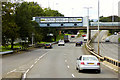 NS5466 : A814 Clydeside Expressway at Broomhill by David Dixon