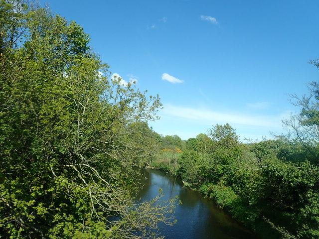 The River Bann below McCombs Bridge