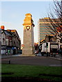 ST3188 : Grade II Listed Newport Cenotaph by Jaggery