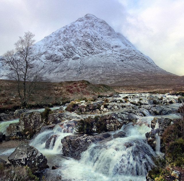 Rapids and waterfalls on the Coupall