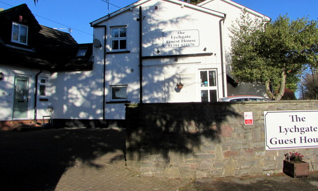Shadows on The Lychgate Guest House, 47 Church Road, Caldicot