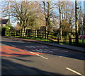 ST4888 : An entrance to the Caldicot Castle and Country Park site by Jaggery