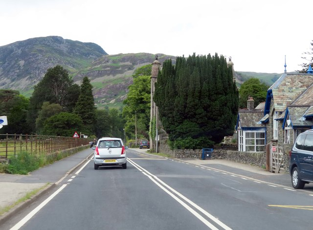 The A592 in Patterdale