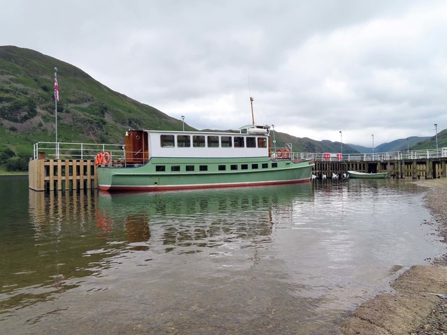 M.Y. Lady Wakefield on Ullswater