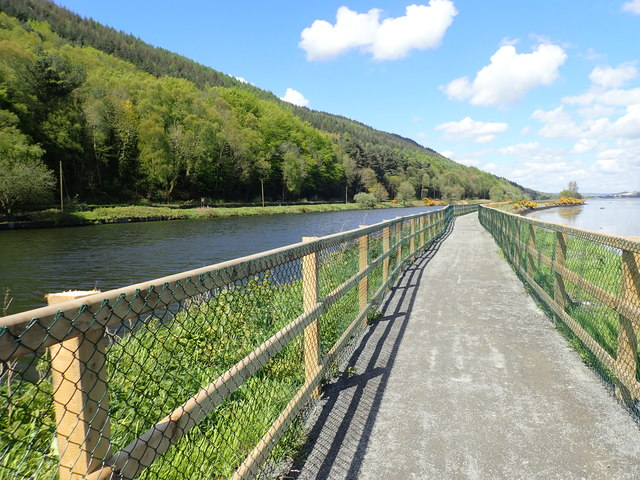 View NNW along the Newry Greenway