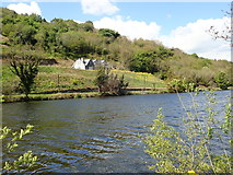 J1022 : House overlooking the Newry Canal by Eric Jones