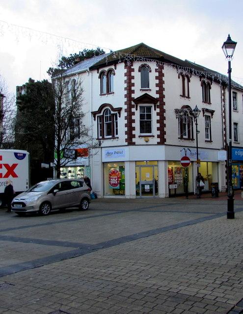 Hays Travel shop, 57 Wind Street, Neath