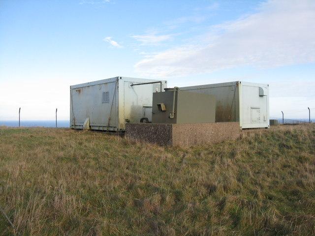 Disused equipment near Dowlaw