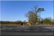 SK6513 : Looking across the A607 Rearsby Bypass by Tim Heaton
