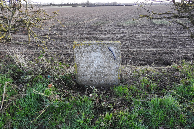 Stirling bomber crash memorial at Chippenham