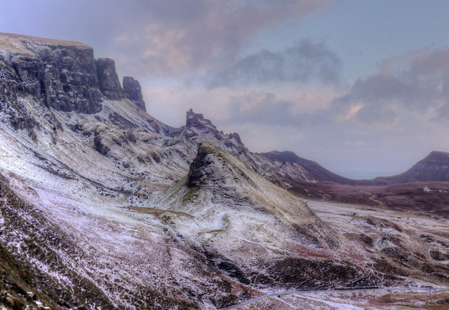 Quiraing from the top of the pass