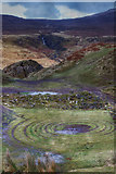NG4162 : Fairy Circle and Lon Airigh-uige by Andy Stephenson