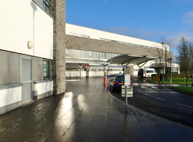 The Main Entrance to the Downe Hospital, Downpatrick