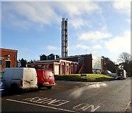 J4944 : Power Plant at the Downe Hospital, Downpatrick by Eric Jones