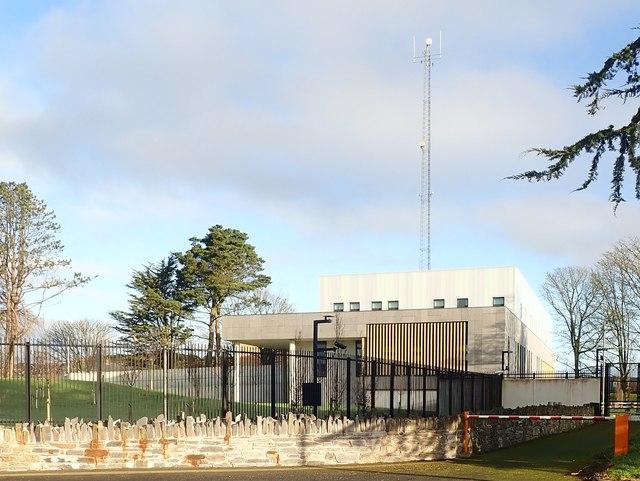 The new Downpatrick PSNI Station