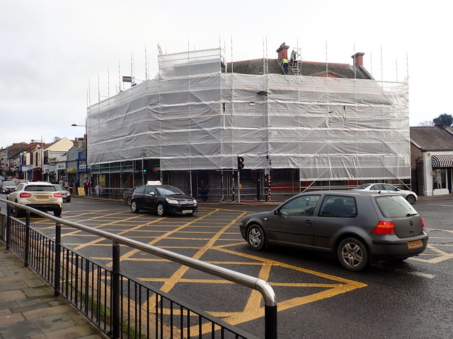 Downpatrick's former Danske Bank premises being renovated