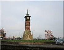 TF5663 : Jubilee Clock Tower by Jonathan Thacker
