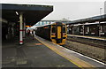 SS7597 : Manchester Piccadilly train in Neath station by Jaggery
