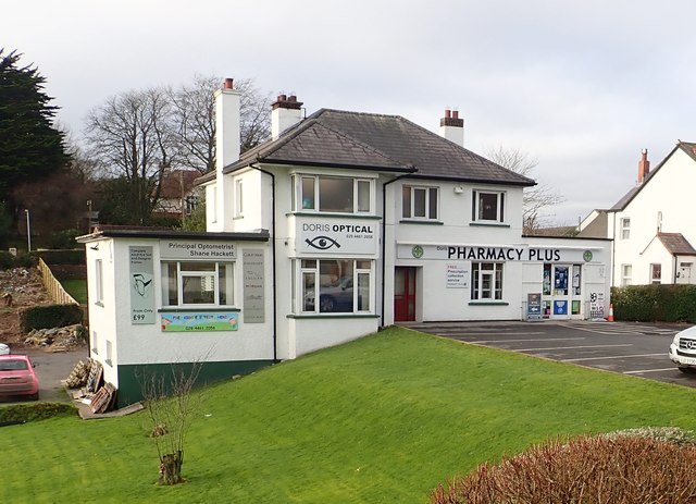 Doris Pharmacy and Opticians in St Patrick's Avenue, Downpatrick