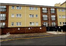 SS7597 : Three-storey flats, Charles Street, Neath by Jaggery