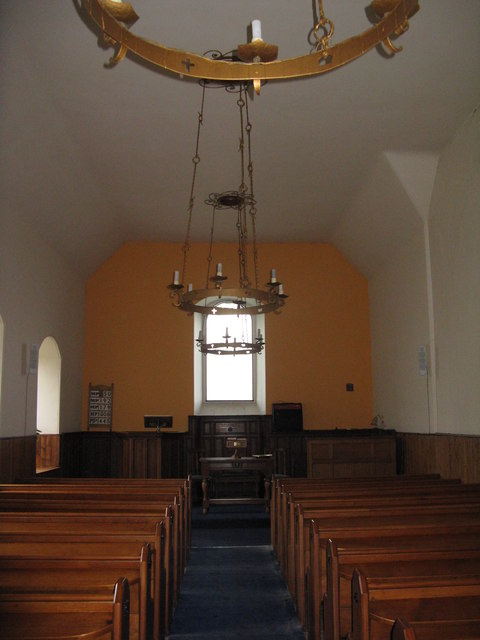 Morham Parish Church - interior
