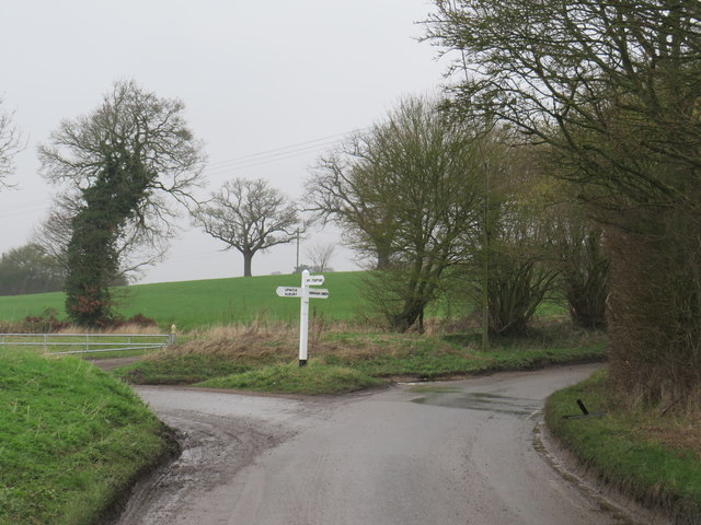 Country lanes near Farnham